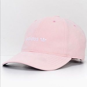 Adidas Women's Relaxed Blush Pink Strapback Hat